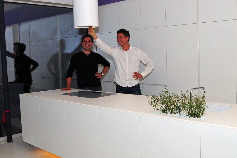 ... deshalb wollten wir eine Haustechnik-Firma aus der Gegend für unsere Installationen.