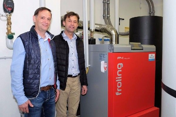 Biowärme für VS Radochsberg