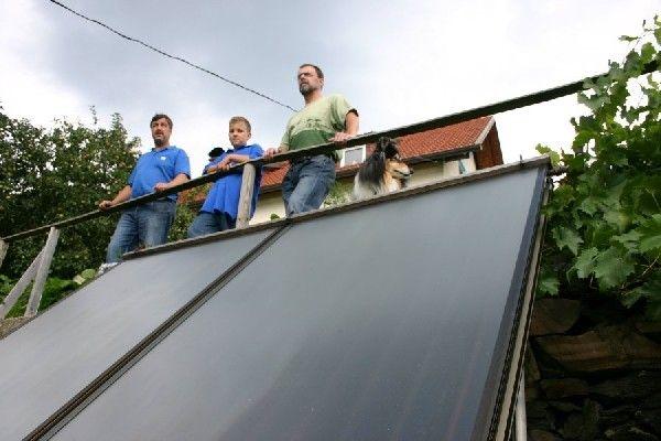 Pellets + Solar = optimales Paar