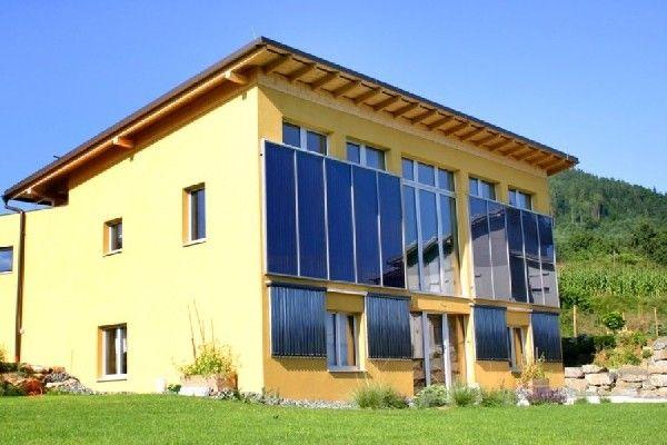 100 % Solarheizung
