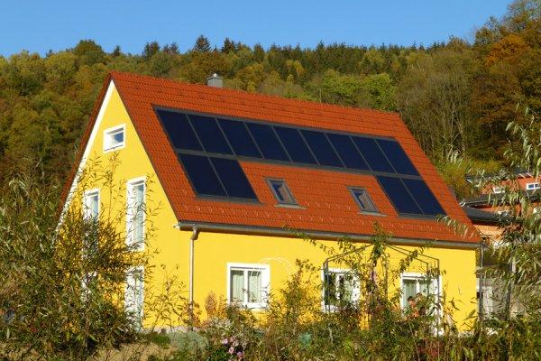 75% solare Deckung