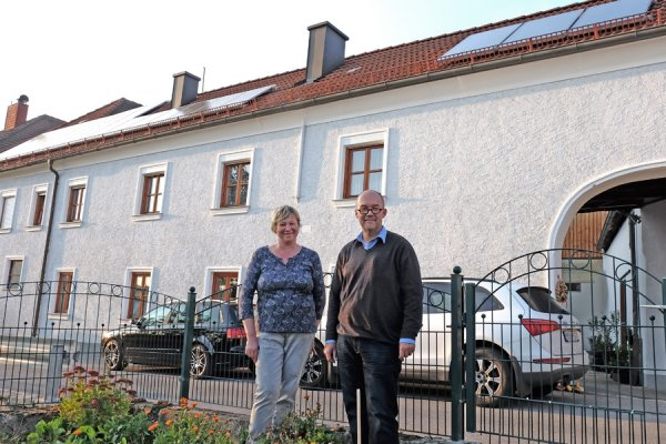 Solar für Warmwasser + Strom