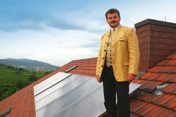 Weinpension mit Solarenergie