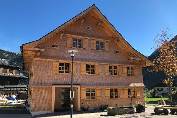 Walserhaus aus dem 15. Jh.