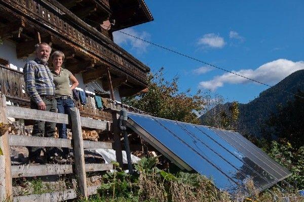 Scheitholz + Solar: Wunderbar!