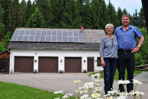 Solarwärme hilft sparen