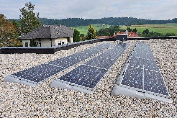 Sauberer Sonnen - Strom