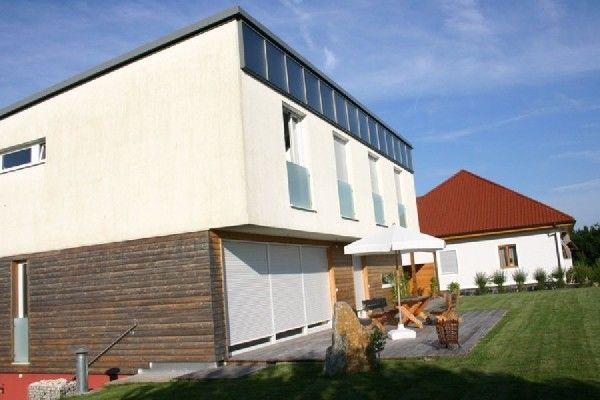 Designhaus mit Solar