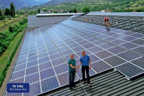 RGO setzt auf Solarenergie